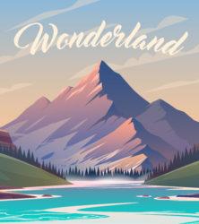 Berge Wonderland