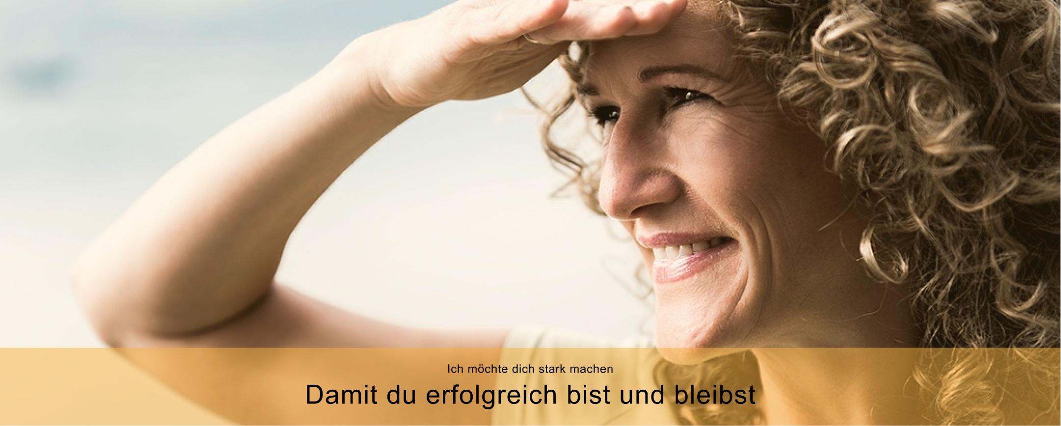 Katharina schaut in die positive Zukunft